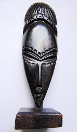 statue africaine en bois pas cher